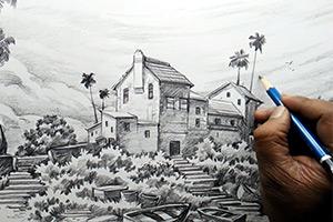 آموزش طراحی با مداد مشهد